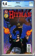 Hitman #1 CGC 9.4 White Pages 1996 3742448018 Batman Appearance