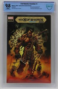 X Of Swords Creation (2021) #1 Kyle Hotz CE Cover CBCS 9.8 Blue Label White Pgs