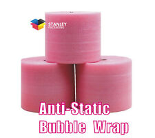 3Rolls  Anti-Static ESD 500mm - Wide x 100M - Length Bubble Wrap AntiStatic