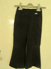 Girls Black School Uniform Trousers - 5 years
