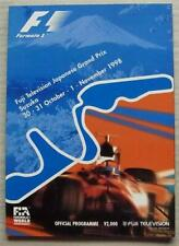 JAPANESE GRAND PRIX FORMULA 1 1998 Suzuka F1 Official Programme