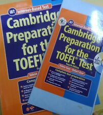 CAMBRIDGE PREPARATION FOR THE TOEFL TEST BOOK +9 CD's+7 Practice tests on CD-ROM
