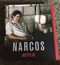 NARCOS~NETFLIX 2016 FYC PRESSBOOK+4 DVD SET~COMPLETE SEASON 1~PABLO ESCOBAR