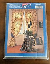 Cartamodello Burda Deco tenda Embrase Cuscino Tovaglia 1600  vintage