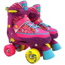 Best Sporting Rollschuhe Rollerskates Kinder Kids Abec 7 Größe verstellbar pink