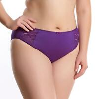 NWT $30 Elomi Cate Brief Panty #4035 Color Pansy Purple Sizes 3XL and 4XL