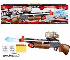 Toy Shotgun Rifle Gun Shooting Soft Bullet & Water Bullets Pistol - Gift For Boy