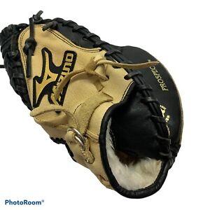 "Mizuno GXC-105 32.5"" Youth Baseball Catchers Mitt Right Hand Throw Excellent"