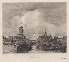 Jacob Heinrich Maris. Vue de Ville. 1900
