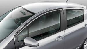 Genuine Toyota Yaris Hatch 5Dr Weathershield LH Jul 2014 Onwards PZQ23-52070