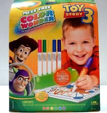 Crayola MessFree Color Wonder DISNEY Toy Story3 Light Up Markers & Coloring Pad