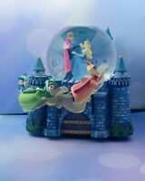 VTG Disney Sleeping Beauty Aurora Once Upon a Dream Musical Snow Globe Retired