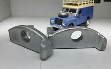 Bonnet Spare Wheel Galvanised Clamps Set 345779 Land Rover Series 2 2a 3