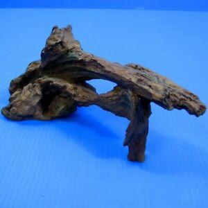 """Driftwood 6"""" Aquarium Ornament - Tree Trunk Decor Fish Tank Wood"""