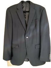 Austin Reed Signature 38L Wool Black Suit Jacket New W/out Tags
