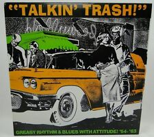 Various ‎– Talkin' Trash 1991  Crypt Records US VR 22029