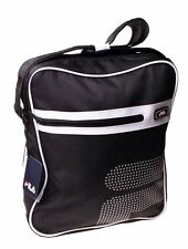7da2d37e9c FILA Black Messenger Bag Travel Office Shoulder Satchel School Gift Handbag  Camp
