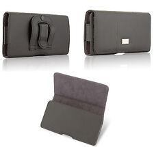 Quertasche Gürteltasche Tasche Belt Case Cover Schutz Hülle Clip 4,5 - 5,7 Zoll