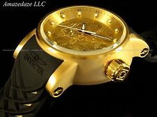 NEW Invicta Men S1 Yakuza Dragon NH35A Auto18K Gold Plated Stainless Steel Watch