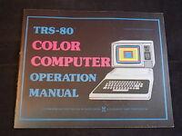 TRS-80 COLOR TANDY COMPUTER Operation Manual Instruction in EXCELLENT SHAPE