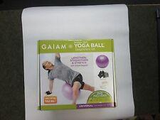 GAIAM YOGA BALL BEGINNERS KIT BRAND NEW