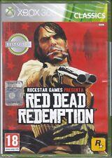 Xbox 360 **RED DEAD REDEMPTION** nuovo sigillato italiano  pal