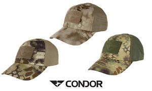 Condor Tactical Kryptek Mesh Cap Adjustable With Hook & Loop  Panels TCM