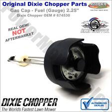 """Dixie Chopper Gas Cap - Fuel (Gauge) 2.25"""" Dixie Chopper Lawn Mowers / 674530"""