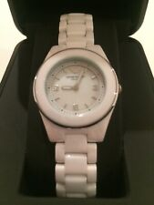 Emporio Armani White Ceramics Ladies Watch From Watch Station New Battery