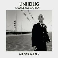 ANDREAS UNHEILIG/BOURANI - WIE WIR WAREN (2-TRACK) CD SINGLE ROCK ROCKPOP NEUF