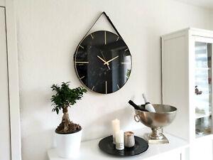 XL Wanduhr Vintage Shabby Landhaus Design Designuhr Deko Wanddeko Groß Uhr