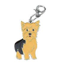 Yorkshire Terrier Anhänger für Kette, Schlüsselbund, Armband etc. Hund Schmuck.