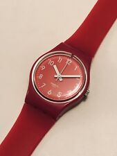 Swatch Lady Pink Berry Double Strap Watch LR123