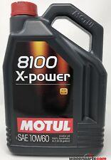 Aceite Motor Motul 8100 X-Power 10W60 ACEA A3/B4, 5 Litros