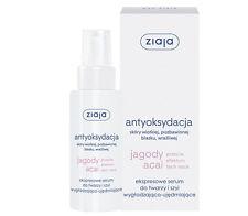 Ziaja Acai Berries jagody acai Express face, neck SERUM smoothing and firming