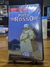 PORCO ROSSO VHS Sealed Demo STUDIO GHIBLI rare