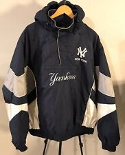 New York Yankees Pullover Hooded Jacket Insulated Coat MBL Men's Size: XXL EUC