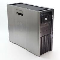 HP Z820 Workstation w/ x2 E5-2670 2.6GHz 16-Core 960GB SSD 64GB RAM Quadro 5000