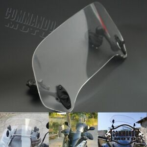 Motorcycle Windshield Spoiler Extension Windscreen For BMW R1200GS F800GS Yamaha