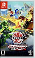 Bakugan: Champions of Vestroia Nintendo Switch Brand New Factory Sealed Nsw Game