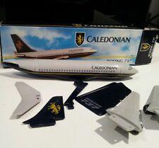 Wooster Caledonian Airways Landor 1/200 scale Boeing 737-200 Plastic model plane