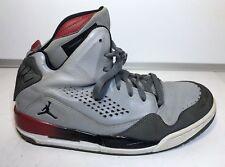 Nike Mens Gray Jordan Flight 629877-002 Leather Basketball Shoes Size 7.5