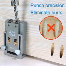 14pcs/Set Pocket Hole Jig Kit Woodworking Guide Oblique Drill Angle Hole Locator