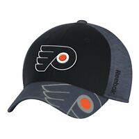 NHL Philadelphia Flyers Structured Flex Fit Cap Center Ice Collection Hat