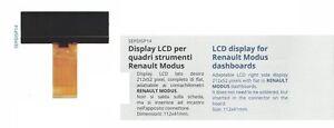 Display LCD for Renault Modus dashboards quadri strumenti