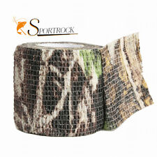 Military 1 Roll Camo Stretch Bandage Camping Hunting Shooting Airsoft Tape 4.5M