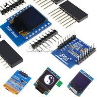 """0.66"""" 4/7pin Screen SPI I2C OLED Display Module for WeMos D1 Mini OLED Shield SE"""