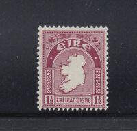 Ireland 1940-1942 1 1/2 d Map Sc 108  MNH