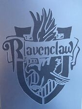A4 Hogwarts Stencil Wall Furniture  Harry Potter Ravenclaw Template Decor Craft