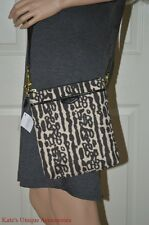 COACH Swingpack OCELOT LEOPARD ANIMAL PRINT CROSSBODY MESSENGER BAG F51818 $148